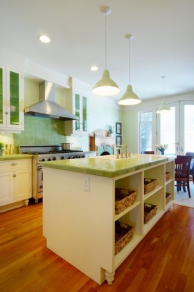 8万打造90平米田园厨房装修效果图大全