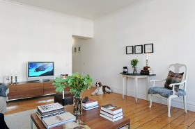 80平小户型简洁客厅装修效果图大全
