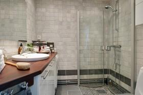 80平小户型家庭卫生间装修效果图大全