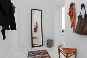 90平米单身公寓北欧风格玄关装修效果图大全