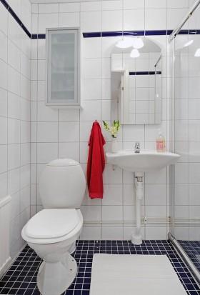 90平米单身公寓北欧风格家庭卫生间装修效果图大全