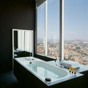 70平米小户型创舒适卫生间浴缸装修效果图大全