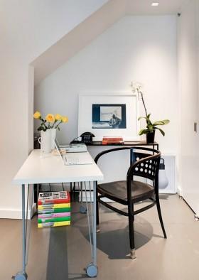两室两厅简洁书房装修效果图大全