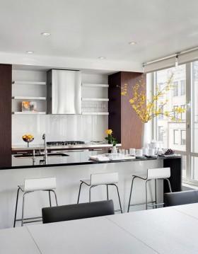 两室两厅餐厅橱柜装修效果图大全2012图片