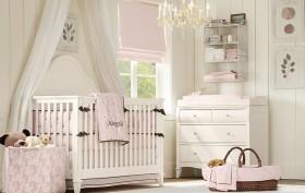 简约儿童房宝宝床装修效果图
