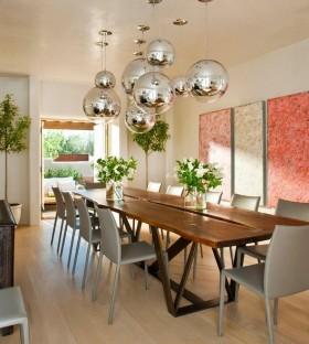 地中海风格二居室餐厅吊顶装修效果图大全