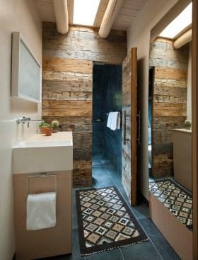地中海风格二居室卫生间装修效果图大全