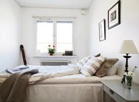 46平米简约小资单身公寓卧室装修效果图大全