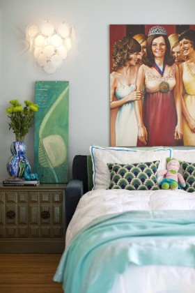 80后二居室浪漫卧室装修效果图