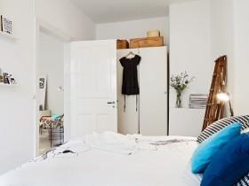 70平小户型简洁清新卧室装修效果图大全