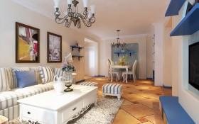 地中海风格小户型家居装修设计效果图