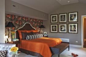 6万打造现代风格卧室二居装修效果图大全