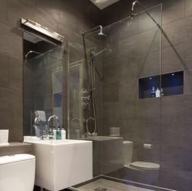 6万打造现代风格卫生间二居装修效果图大全2012图片