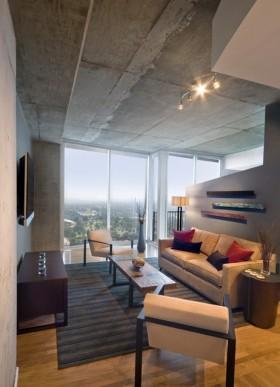 3万打造50平现代客厅装修效果图