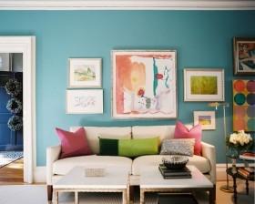 70平小户型现代风格客厅装修效果图大全