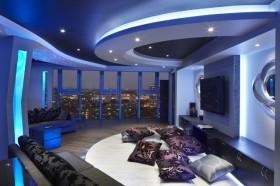 三室两厅现代都市白领大爱的客厅装修效果图大全