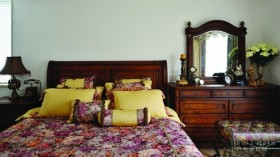 70万打造田园风格卧室装修效果图大全2012图片