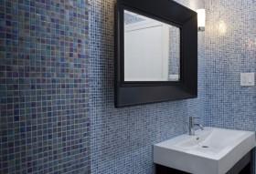 12万打造120平米现代简约风格卫生间装修效果图大全