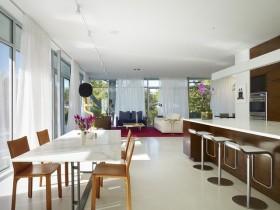 7万打造90平米现代简约风格餐厅装修效果图大全