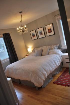 70㎡小户型简约卧室装修效果图大全