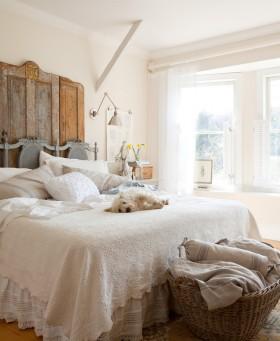 超自然乡村美式风格卧室装修效果图大全