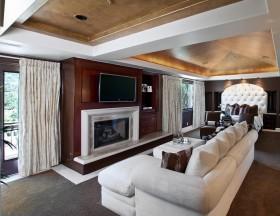 三房两厅两卫客厅装修效果图大全2012图片
