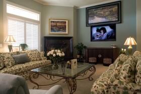 7万打造奢华二居现代客厅装修效果图大全
