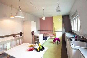30平超小户型开放式卧室装修效果图大全
