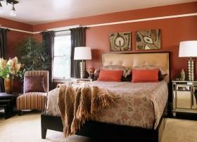 70平小户型东南亚风格卧室装修效果图大全