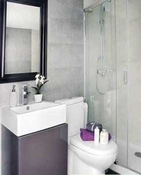 90平小户型厕所装修效果图大全