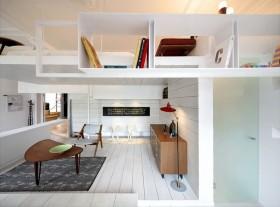 纯白色的简约风格卧室装修效果图大全