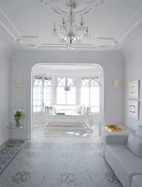简约风格客厅吊顶装修效果图