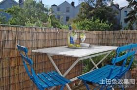 室外露天阳台装修效果图2013图片