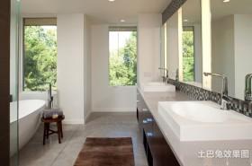 简欧风格三房两厅卫生间装修效果图大全2012图片