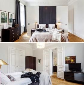 四居室卧室装修效果图大全2012图片 自然温馨