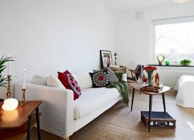 30平米超小户型客厅装修效果图大全