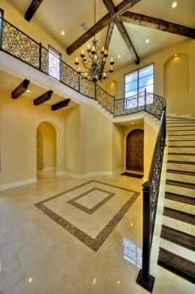 130万打造170平米地中海风格别墅玄关装修效果图大全