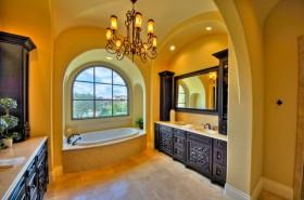 130万打造170平米地中海风格家居卫生间浴缸装修效果图大全