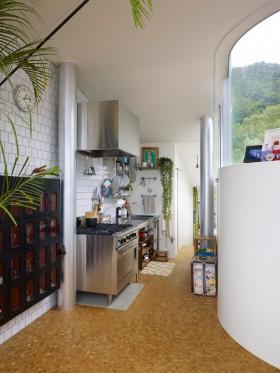 波托菲诺香山里二田园风格别墅厨房装修效果图2012最新案例