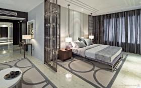 现代元素打造两房两厅卧室装修效果图大全