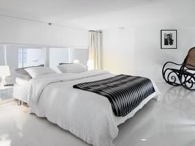 80平男士单身公寓卧室装修效果图大全