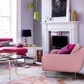 小户型北欧风格浪漫客厅装修效果图大全