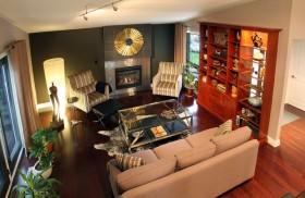 180平米复式欧式现代客厅博古架装修效果图大全