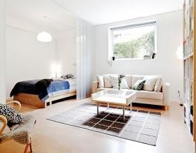 80平单身公寓客厅装修效果图大全