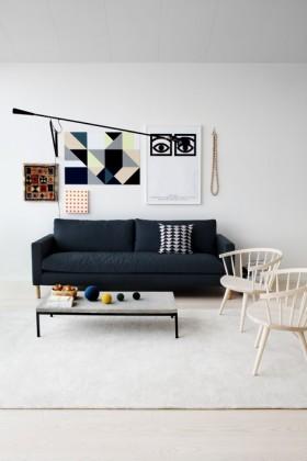 10万打造80平最新后现代装修客厅背景墙风格
