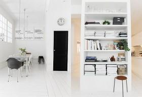 单身公寓书房装修效果图