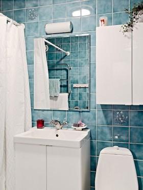 单身公寓装修效果图卫生间图片