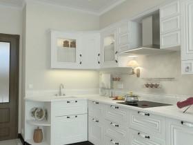 简约风格开放式厨房装修设计效果图