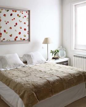 床简欧风格小三居欧式简约风格卧室装修效果图大全