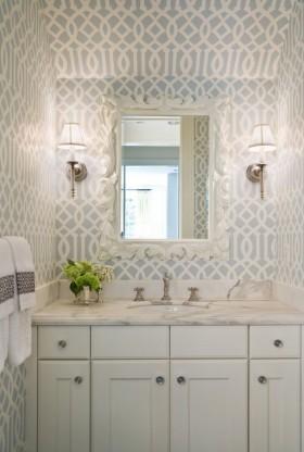 140平四居室欧式卫生间装修效果图大全